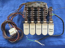 Hammond Organ M100 Lower Tablets Presets Switches -TESTED- Yellowed