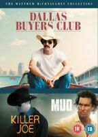 Matthew Mcconaughey - Dallas Buyers Club / Killer Joe / Barro DVD Nuevo (EO51828
