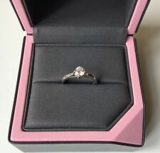 Boodles Diamond Solitaire .42 ct Platinum engagement ring Tiffany ring valuation