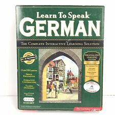 Learn To Speak German 5 Cd Set - The Learning Company