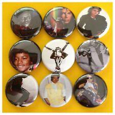MICHAEL JACKSON 1in badges buttons pinbacks THRILLER JACKSON 5 MJ ZOMBIE