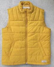 Lucky Brand Outdoor Gear Uni-Sex Size Medium Mustard Yellow Puffer Vest