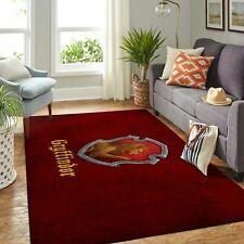 Gryffindor Harry Potter Living Room Carpet, Gift for Christmas Home Decor