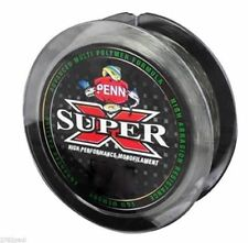 300m 50LB Spool of PENN Super X Monofilament Fishing Line-LowVis Green Mono Line