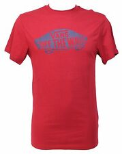 T-SHIRT VANS TG. S ROSSO OFF THE WALL MAGLIETTA UNISEX UOMO DONNA VJAYJ2M SHIRT