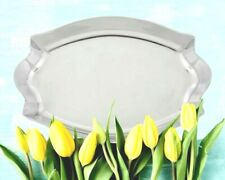 """Arthur Court Designs STUNNING """"Scallop Oval Serving Tray"""" - 104170"""