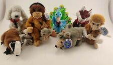 Lot Of 8 Mixed Countries Coke Coca-Cola Beanie Babies Beanbag Plush With Tags