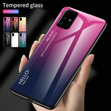 For Samsung Galaxy Note 20 Ultra Case Hybrid Rigid Tempered Glass Phone Cover