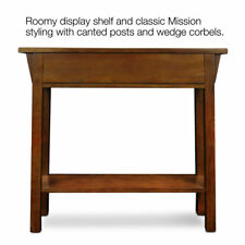Leick Furniture Mission Hall Stand Canted legs and wedge corbels #9057-Rs