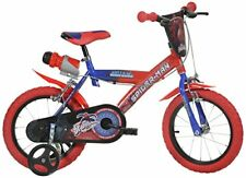 Dino Bikes 143g SA Ragazzi metallo Blu Rosso Biciclettadino Bikes143g-sa
