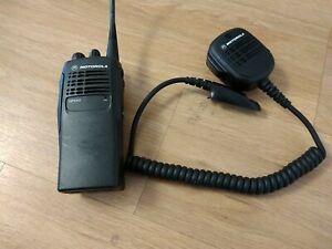 Motorola GP340 Radiotrasmittente+Motorola HMN9053C Remote Mic