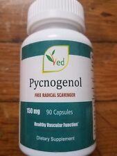 Pycnogenol 150mg 90 Capsules Antioxidants Natural and organic