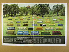 1969 Simmons Hide-a-Bed Sofa 45 Models color photo prices vintage print Ad