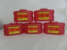 BD Sharps Collector REF 305488 3.3QT(3.1 L) *Lot of 5*