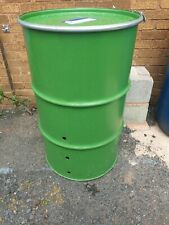 260 Litre Fire Bin with lid and clamp