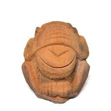 Sehe Nichts Affe Figur aus Kokosnuss ca. 18cm Skulptur
