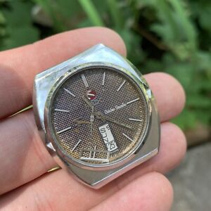 Rado Golden Gazelle Day Date Men's Automatic Watch For Parts or Repair