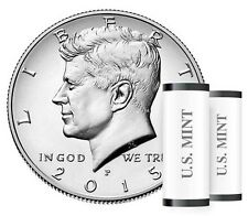 2015 JFK Half-Dollar 2-coin set Philadelphia & Denver mints BU
