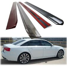 AUDI A6 C7 s6 SALOON REAR ROOF WINDOW SPOILER 2015 NEW PAINTED COLOR ◣