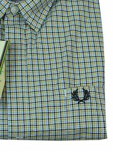 Fred Perry Button-Down Kurzarmhemd M6715 886 Bradley Wiggins #6128
