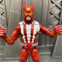"""Marvel Legends Hasbro Warlock BAF Series X-Men Sunfire 6"""" Inch Action Figure"""