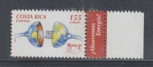 Costa Rica 2006 Electricity  Sc 592 Mint Never Hinged