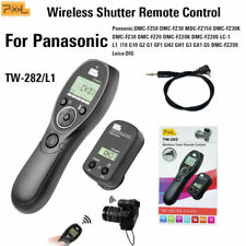 UK Seller! Pixel TW-282/L1 Wireless Timer Remote Control for Panasonic DSLR