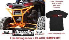 BLACK RacePace Rear Smash Bumper for RZR XP 1000 & Free Unhinged ATV T-Shirt