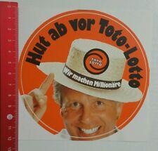 ADESIVI/Sticker: TOTO LOTTO-facciamo milionari (30041650)