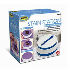 Laundry Stain Remover Station Easy Wash Washboard Cleaning Clothes Remove Clean