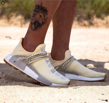 Adidas Originals Mens Pharrell Williams HU NMD PRD Shoes Cream EG7737 UK 12.5
