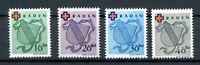 franz. Zone Baden MiNr. 42-45 A postfrisch MNH (F044