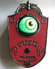 Animated Eyeball Sound Doorbell Halloween Party Decoration Haunted House Prop