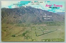Palm Springs California~Aerial Tramway~Foremost Desert~Vintage Postcard