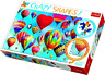 Trefl 600pcs Crazy Shapes - Colourful Balloons Jigsaw Puzzle