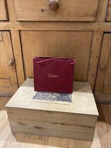 Medium Cartier paper carrier bag, 26cm wide x 22.3cm high