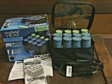 Conair Instant Heat Compact Hair Styling Setter Rollers Travel Pagent HS28RD