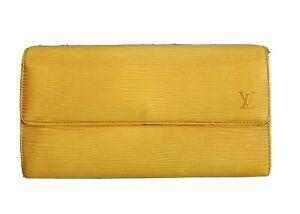 Original Louis Vuitton Epi Geldbörse Portemonnaie Wallet