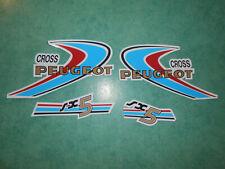 Lot autocollants Peugeot SX5 Cross