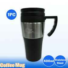 Office Car Coffee Tea Mug Cup Insulated Double Wall Gym Water Bottle Caravan BBQ