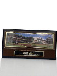 Polo Grounds New York Giants Baseball Stadium Collectors Plaque Brooklyn Dodgers