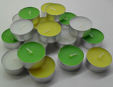 Citronella Scented Jars/Container Candles & Tea Lights