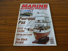 Marine Modelling International: Dec 2003: Pourqoi Pas, Black Swans, VLCC Lucina