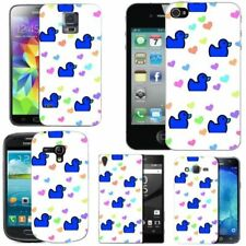 Blue Mobile Phone Fitted Cases/Skins for Motorola