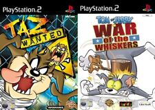 Tom & Jerry in War of the Whiskers & taz wanted    pal  ps2