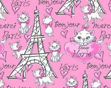 Cuarto Gordo Tela Aristogatos algodón artesanía acolchado Marie en París-Disney