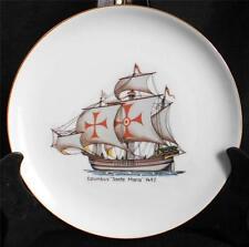 "Vintage ESCHENBACH BARONET Germany COLUMBUS ""SANTA MARIA"" 1492 8"" Ship Plate"