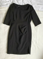 L.K. Bennett 'Dr Mariana' Black Dress. Size UK 12. Excellent Condition.