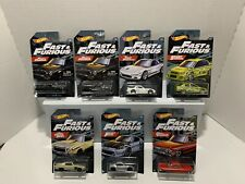 2019 Hot Wheels Fast & Furious Set of 6 Mattel *NEW* Wal-Mart Exclusive 7 Cars
