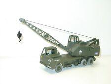DINKY TOYS, Grand camion grue de 20 tonnes, militaire aromanche ou US army